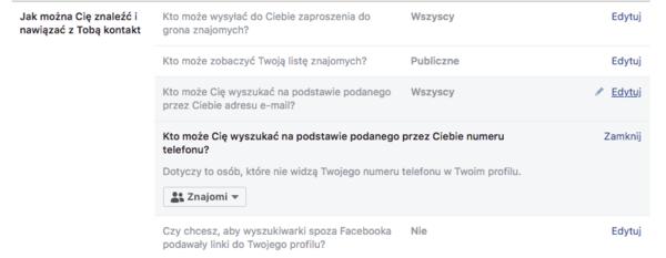 7ab2712c26eda4 Czy prywatność na Facebooku jest możliwa?