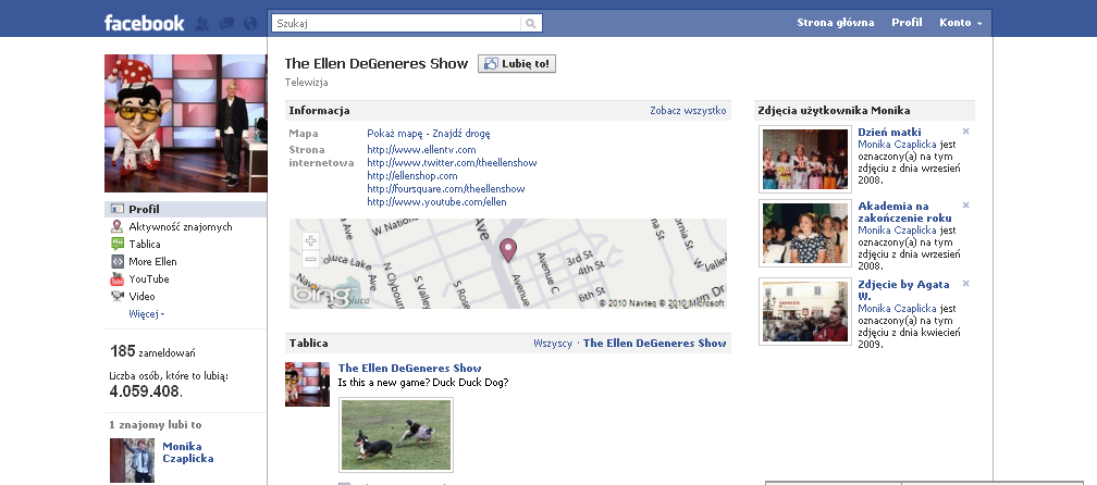 Facebook The Ellen DeGeneres Show