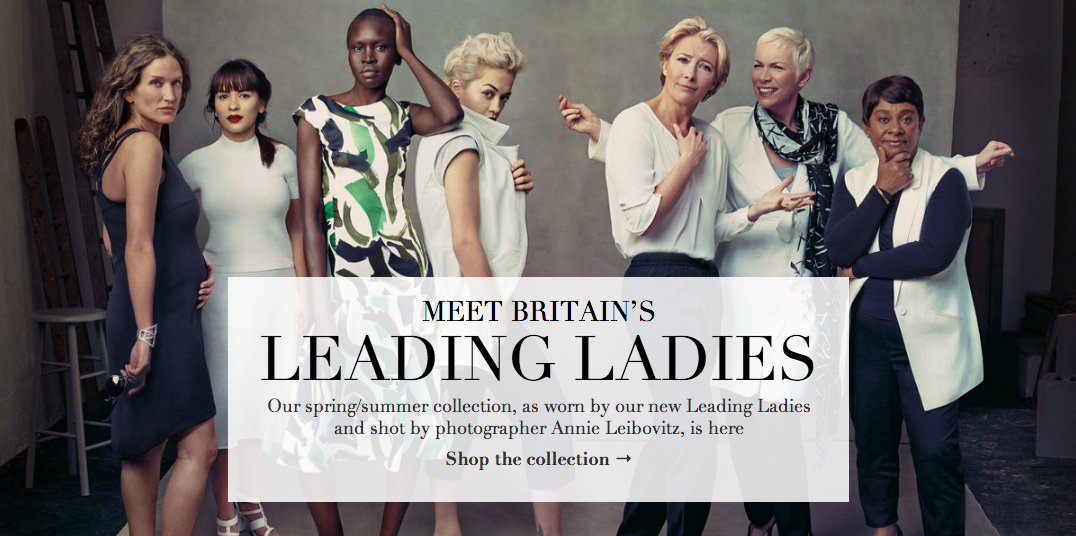 Britains Leading Ladies - Marks And Spencer