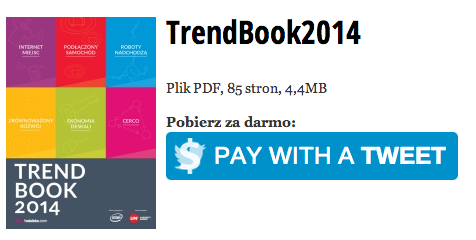 Natalia Hatalska TrendBook - Pay with a Tweet