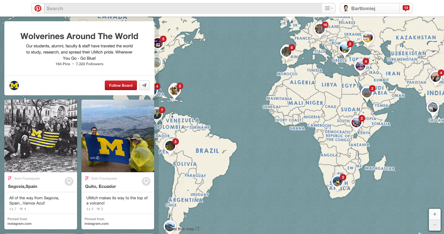Pinterest University of Michigan