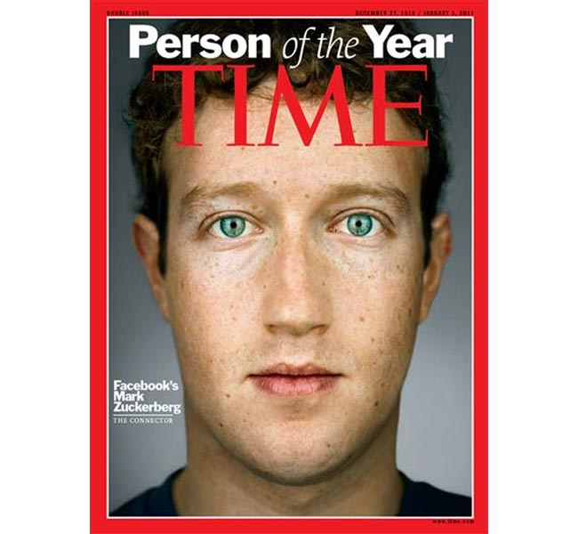 Mark Zuckerberg Time