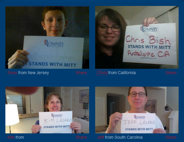 Stand with Mitt